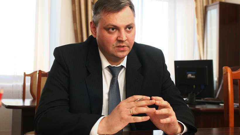 Алексей Алсуфьев в рабочем кабинете.Фото П. Кононов